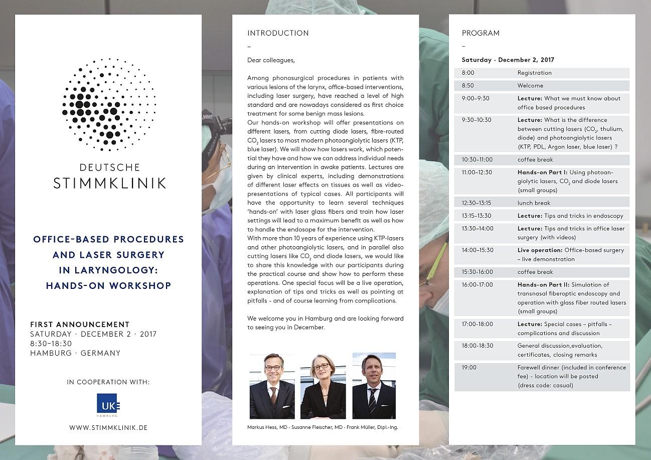 Laryngology course invite
